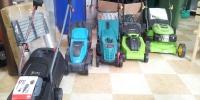 zahradní sekačky elektrické a motorové